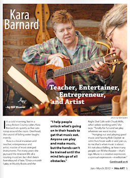 Read the article about Kara in INto Art magazine